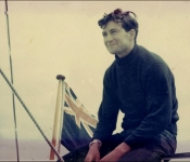 First Fastnet race in 1961