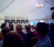 Fastnet briefing in Cowes