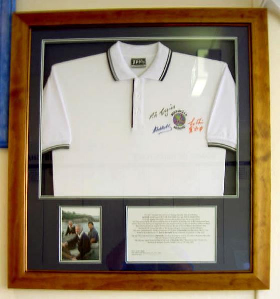 Berrimilla shirt in frame